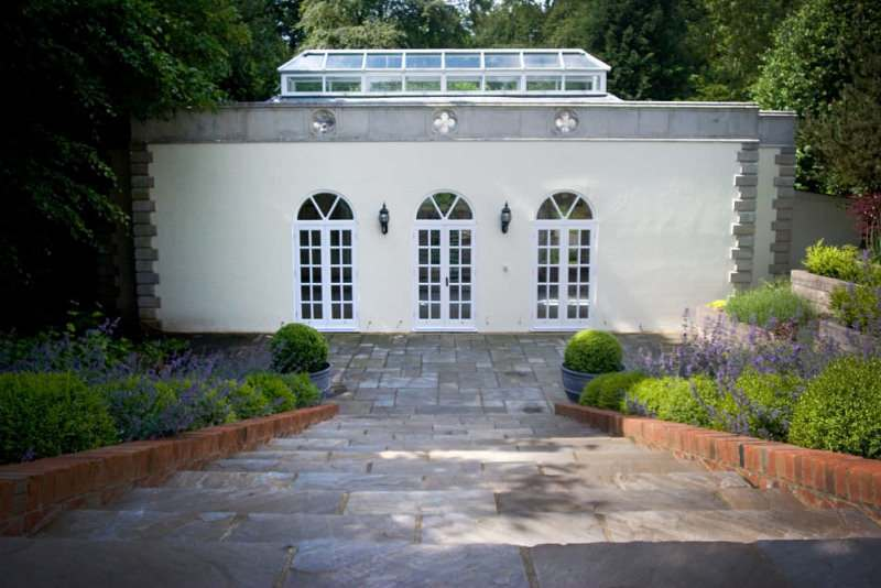 Garden Design Portfolio Formal Garden In Surrey