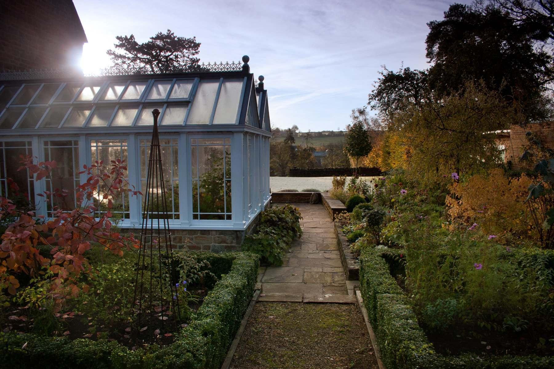 Potager garden design in North Oxfordshire