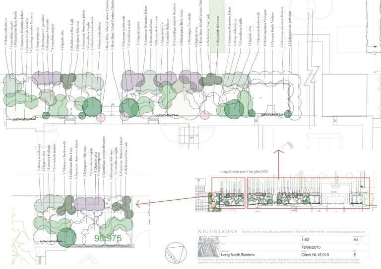 Garden Design Layout for an Oxfordshire Country Garden
