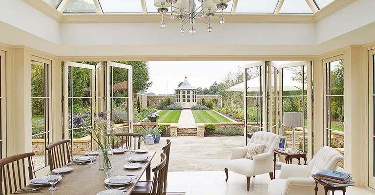 View into garden - David Salisbury Garden Design Case Study