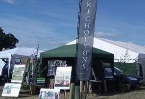 Nicholsons stand at Bucks County Show