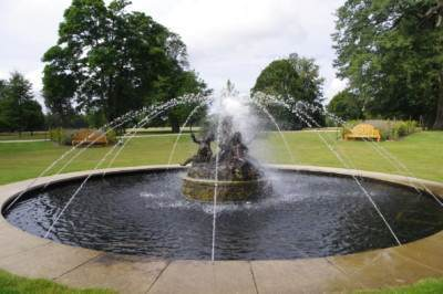Commemorative fountain