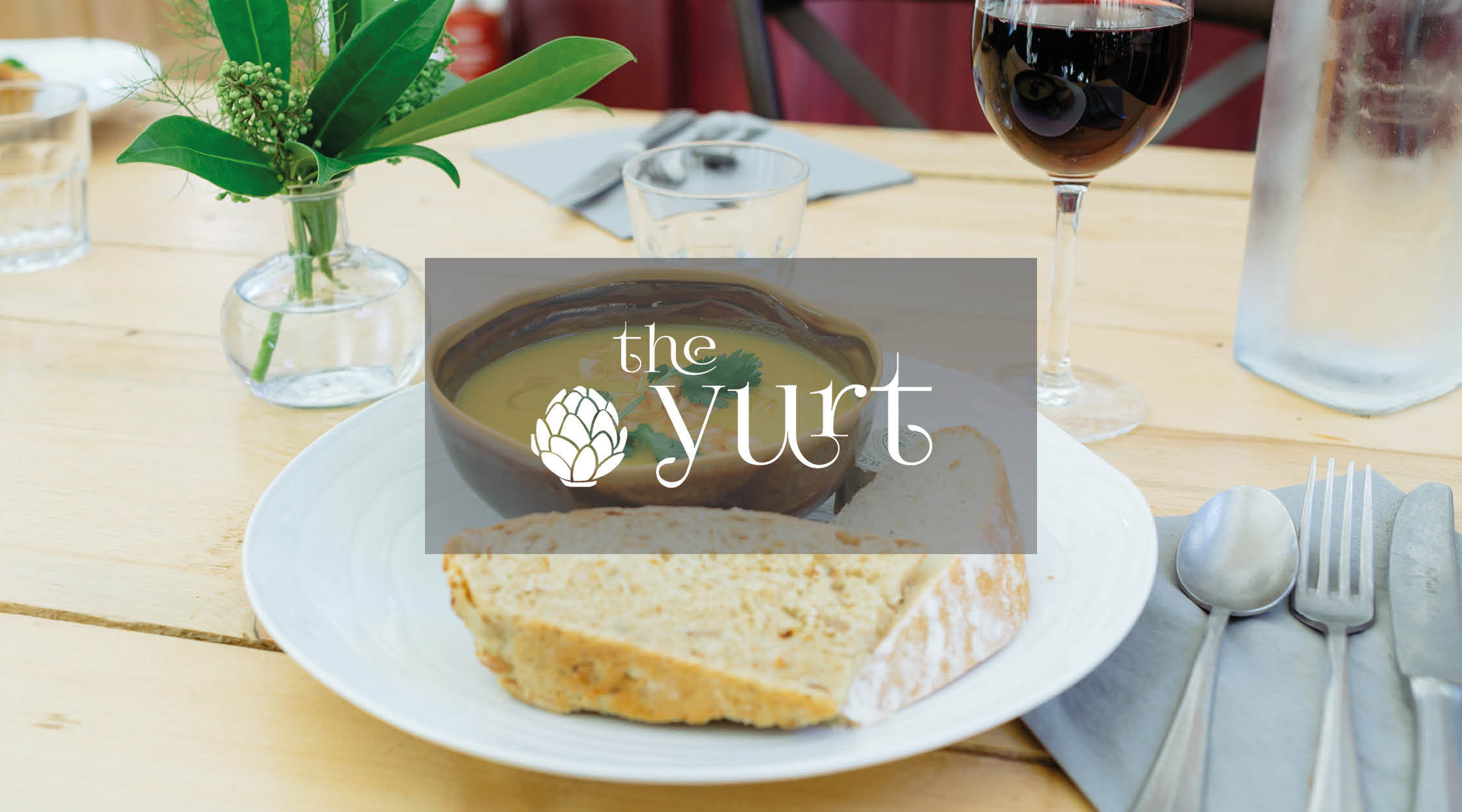 2016 – Yurt Cafe built and established