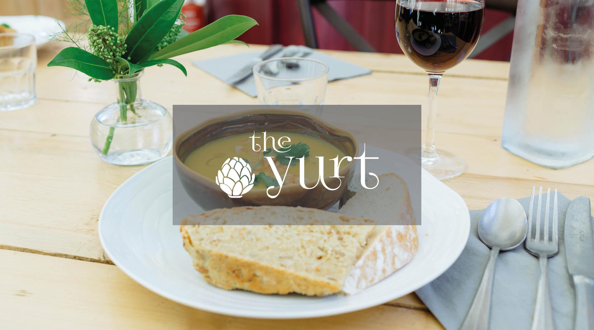 2016 – Yurt Cafe built and established