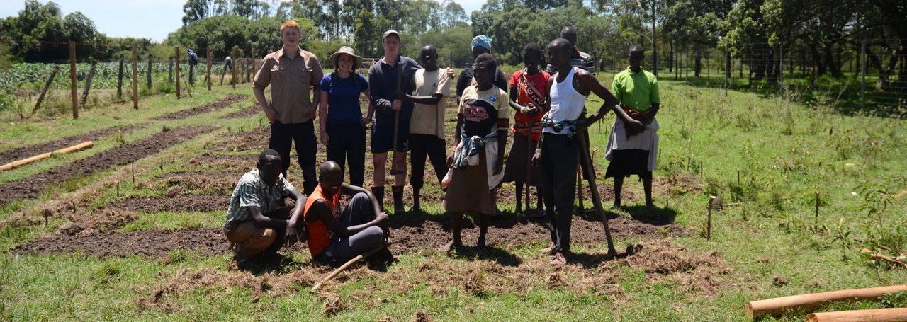 Nicholsons build a nursery in Africa