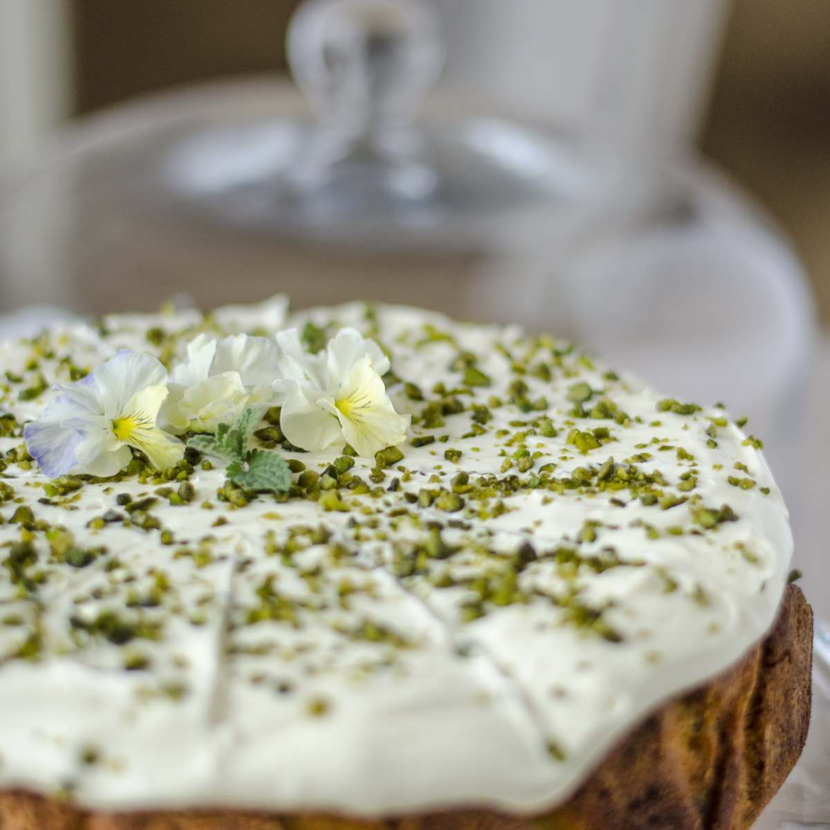 May - The Royal Lemon, Pistachio and Elderflower Cake
