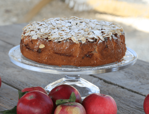 September – Apple & Almond Cake