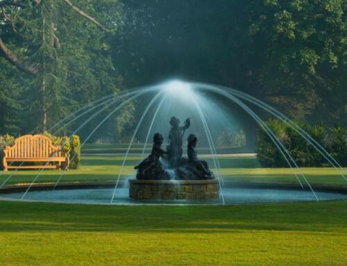 Commemorative fountain