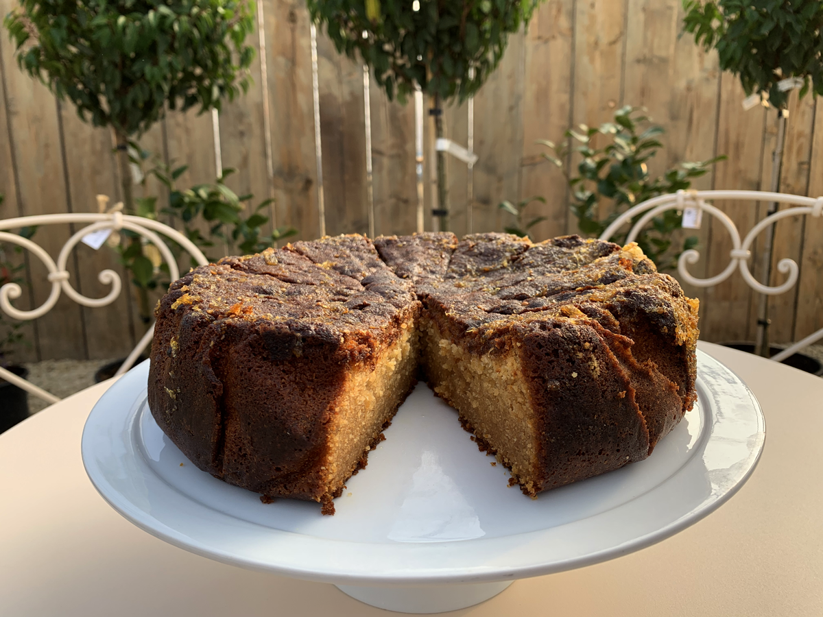Honey, Orange & Coriander Cake