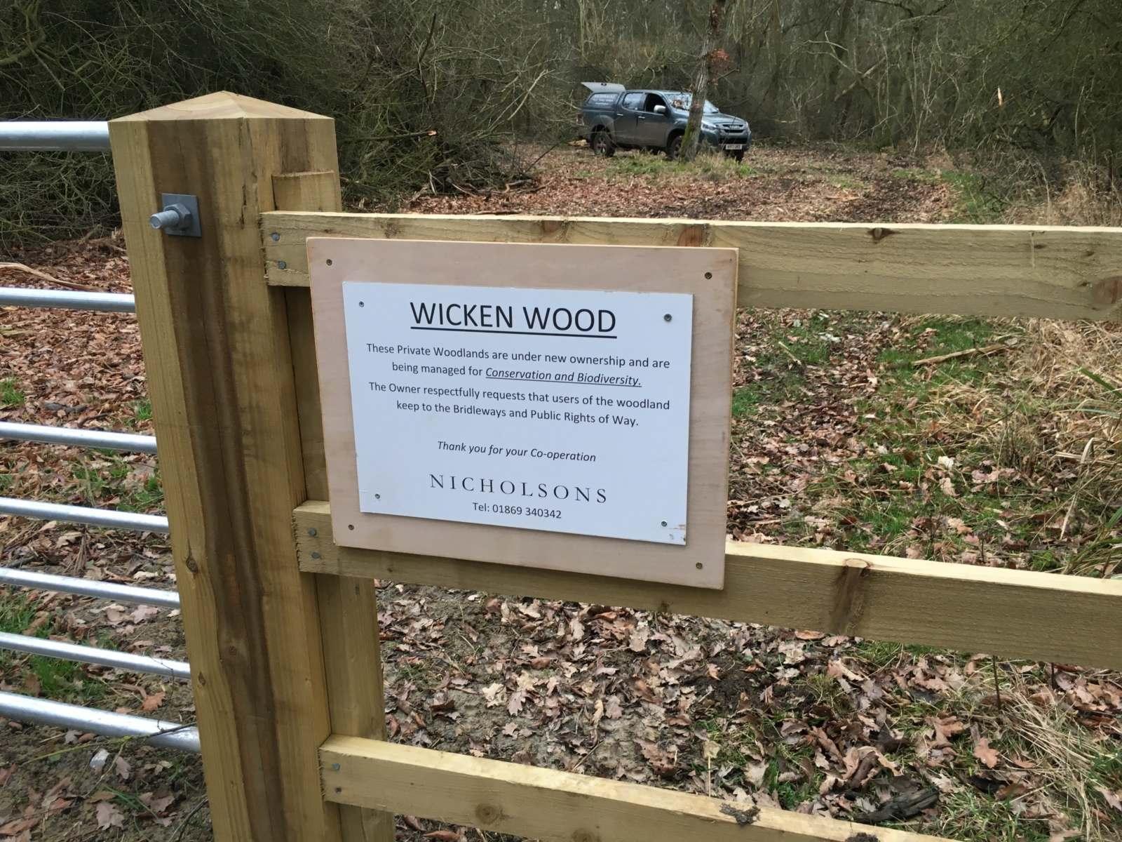 Friends of Wicken Wood