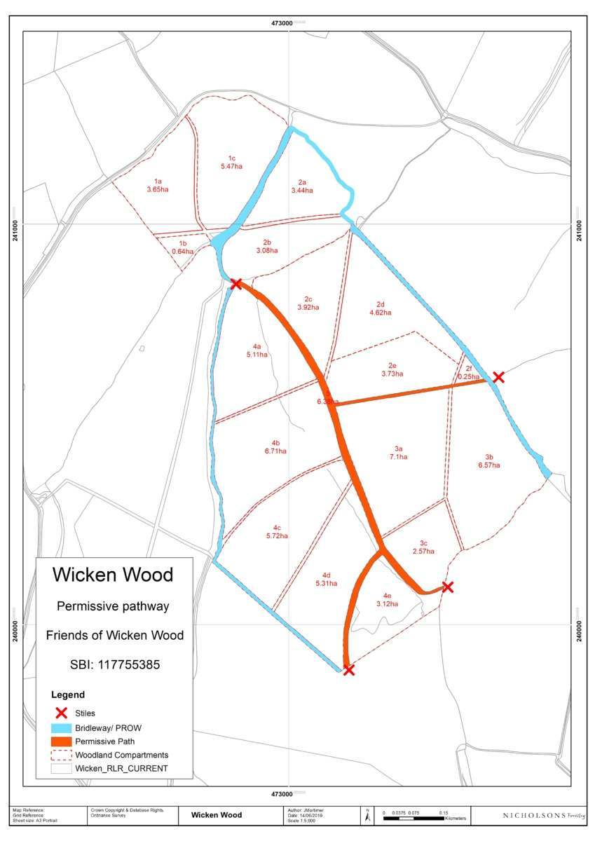 Become a Friend of Wicken Wood