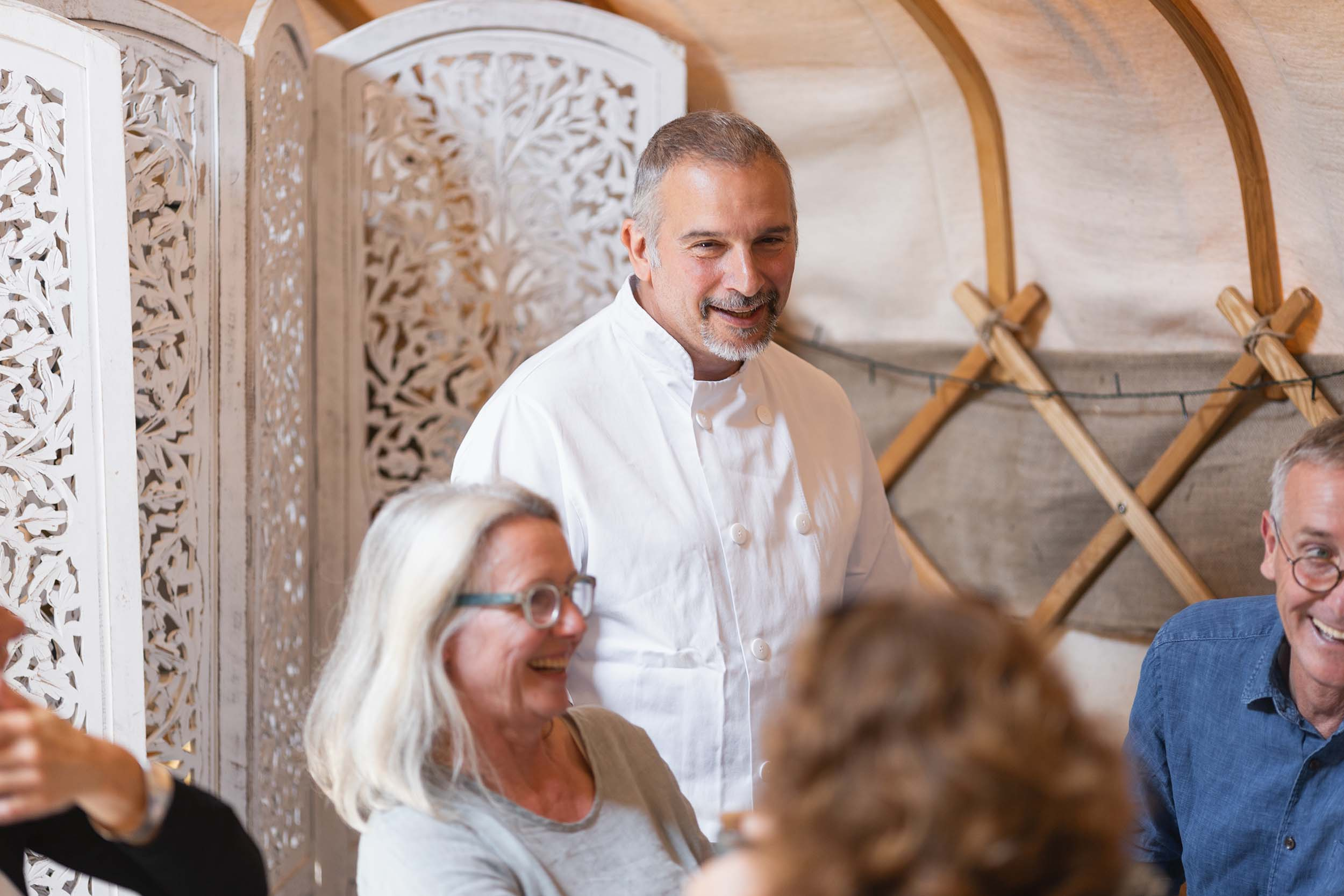 Enrico Ramaglia - Head Chef at the Yurt at Nicholsons
