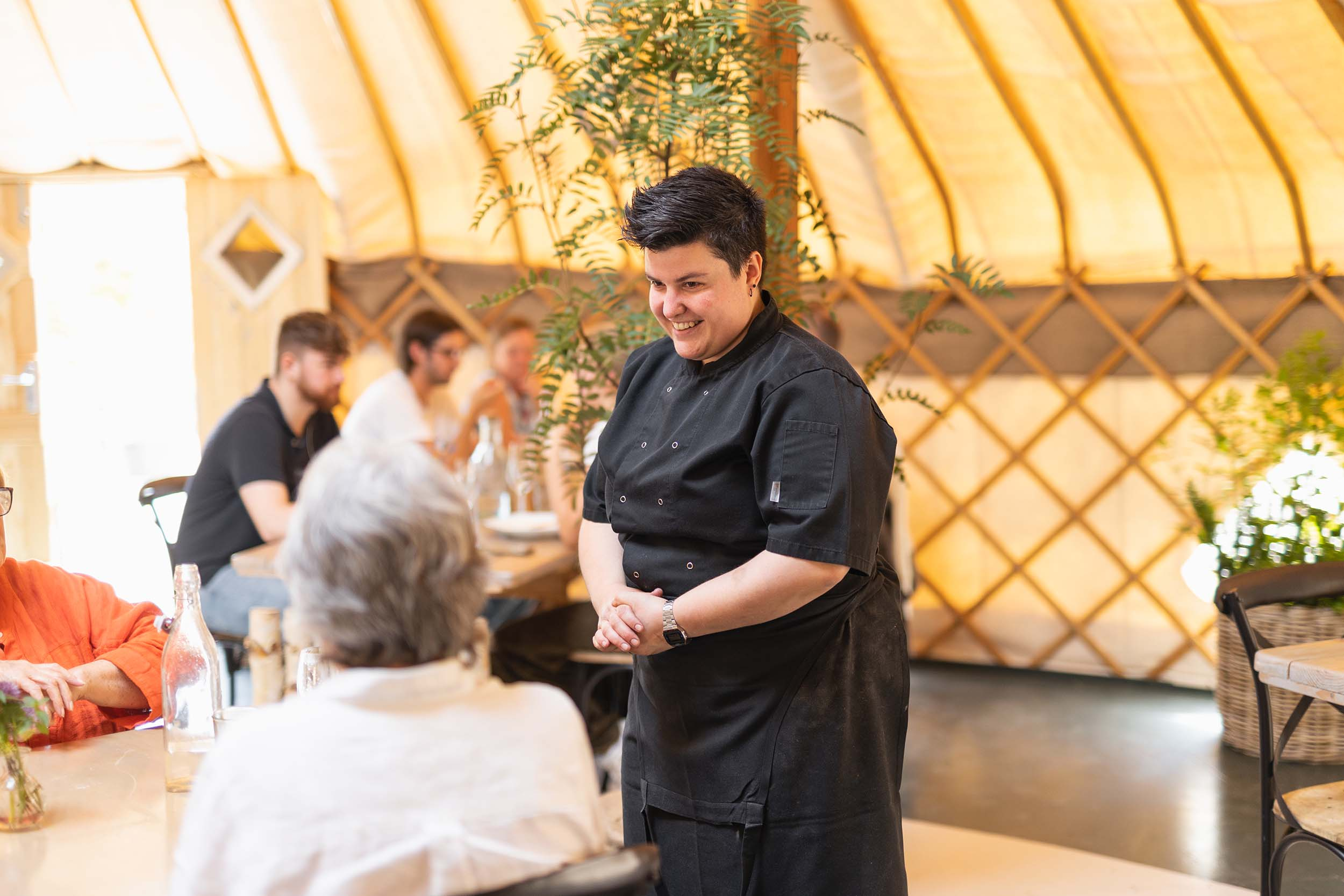 Frankie Michelini - Pastry chef at The Yurt at Nicholsons