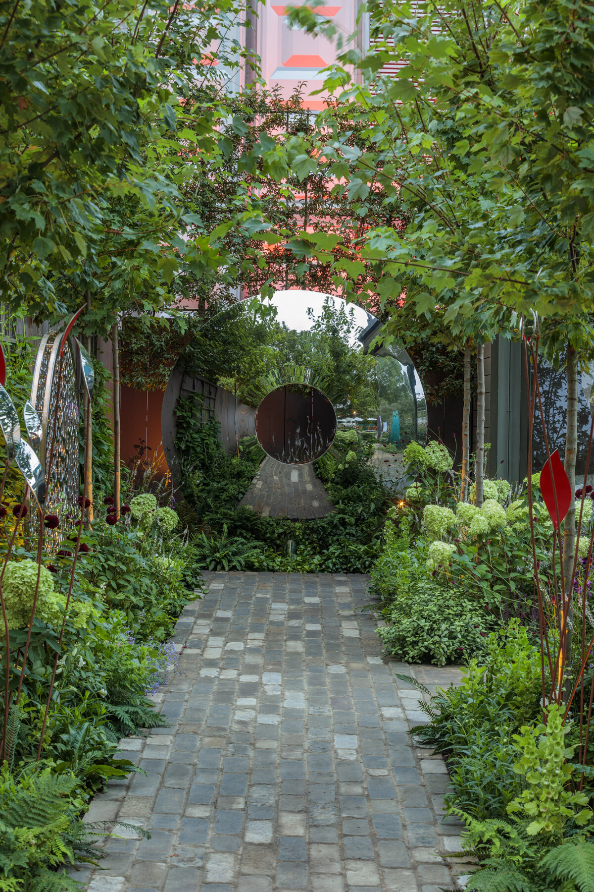 Nicholsons Trade Stand RHS Chelsea Flower Show